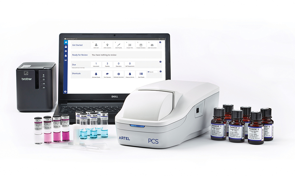 Artel PCS® Pipette Calibration system