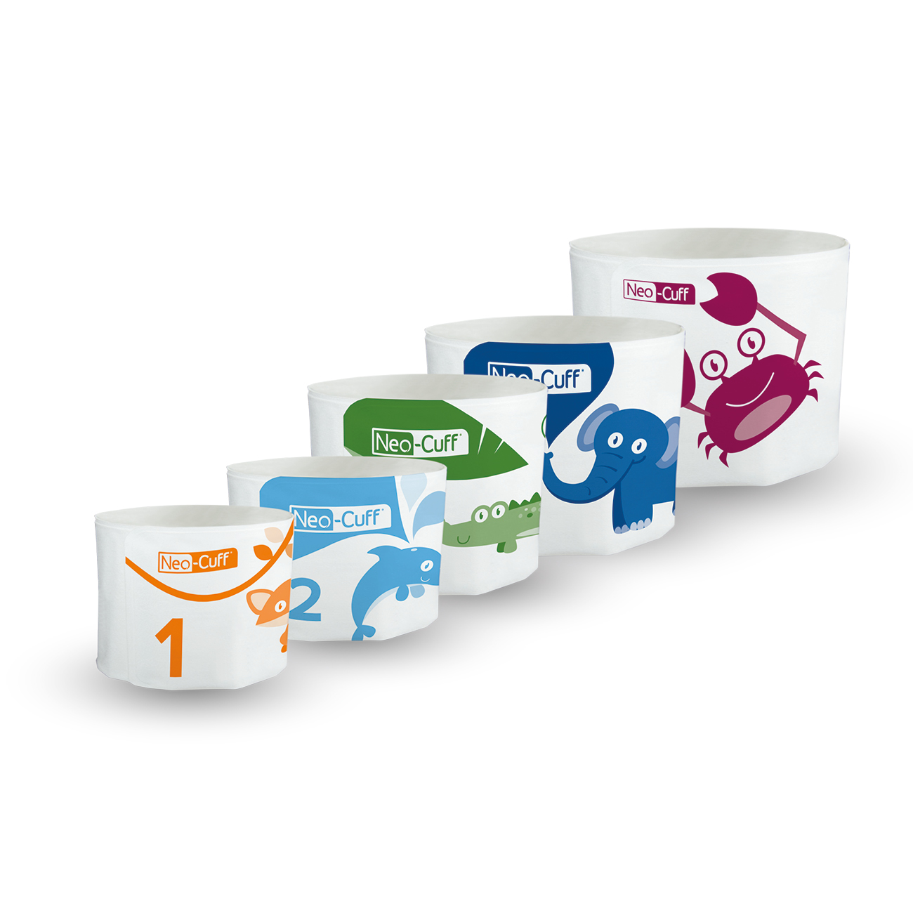 Neo-Cuff™ Single patient use BP cuffs for neonates